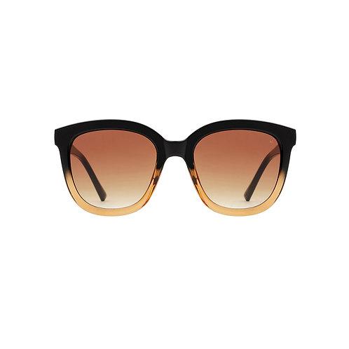 A.Kjaerbede Sunglasses Billy Black Brown Transparent