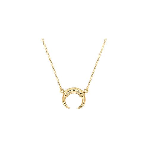 Anna Beck Horn Necklace Gold