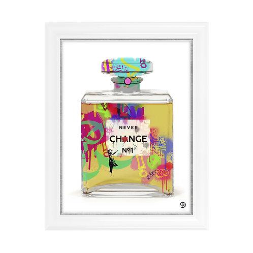 Perfume No 2 Embellished Print