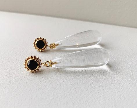 Shyla Mia Clear Hydro Earrings