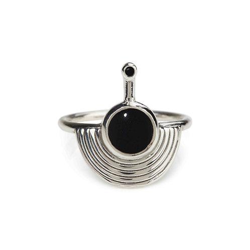 Rachel Entwistle Interstellar Ring - Black Onyx