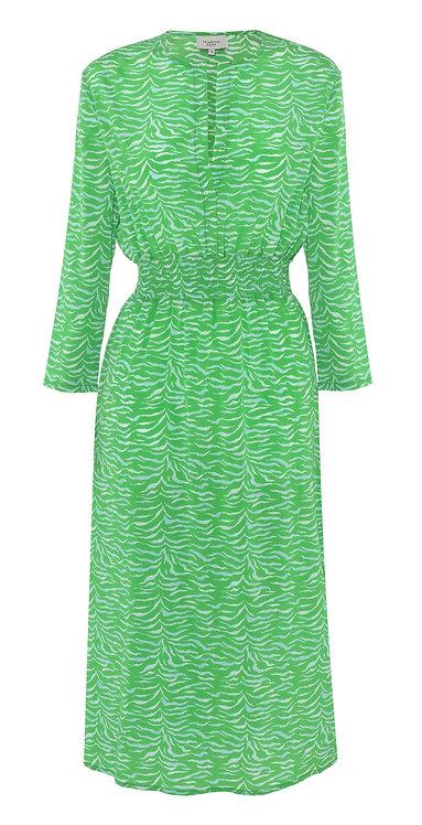 Primrose Park Tiffany Dress Green Zebra