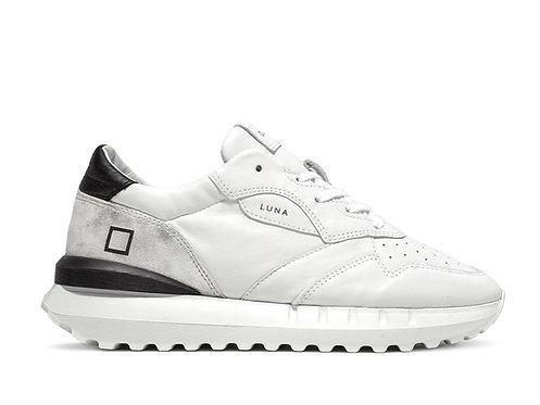 D.A.T.E. Luna Class White-Black Trainers