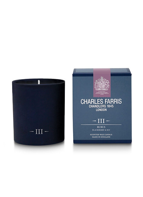 Charles Farris Rubus Scented Candle Blackberry & Bay