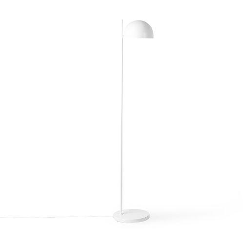 HK Living metal floor lamp ball shade matt white
