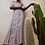 Lisou Alexa Blue Fauna Print Silk Dress