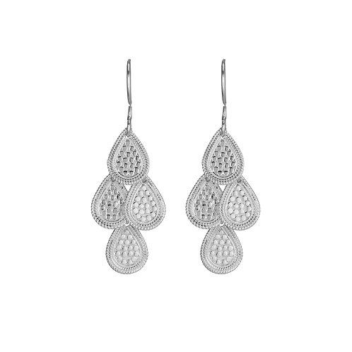 Anna Beck Chandelier Earrings Silver