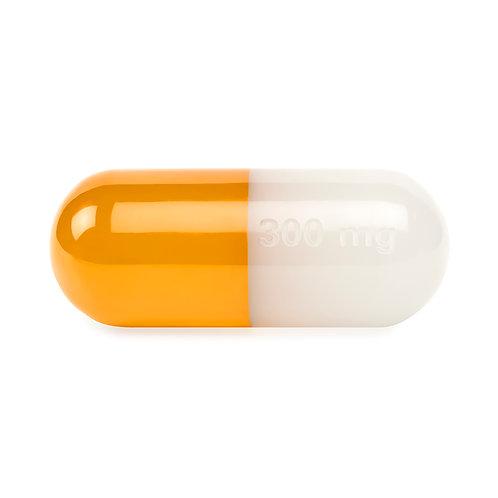Medium Acrylic Pill Orange