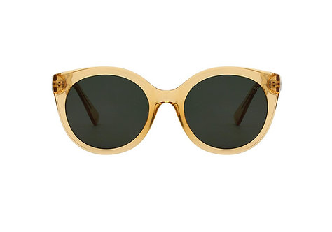 A.Kjaerbede Sunglasses Butterfly Yellow Transparent
