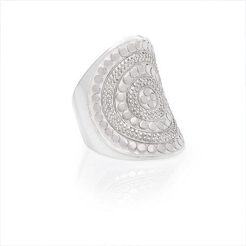 Anna Beck Saddle Ring Silver