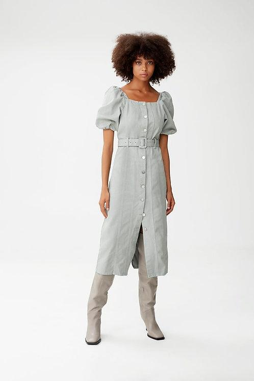 Gestuz Slate Gray Belliogz Denim Dress