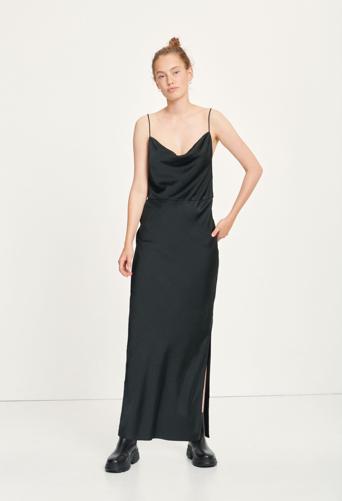 Samsoe Samsoe Apple Black Slip Dress