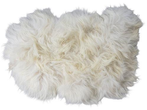 Shepherd of Sweden Torshavn Longhaired Sheepskin White