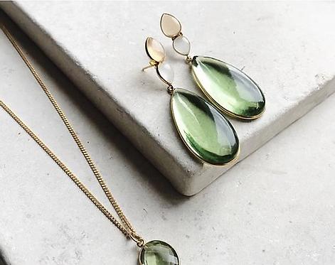 Shyla Perrin Green Hydro Earrings