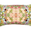 Thumbnail: Susi Bellamy Beige Ripple Kaleidoscope Marbled Linen Oblong Cushion
