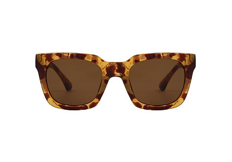 A.Kjaerbede Sunglasses Nancy Demi Light Brown Transparent