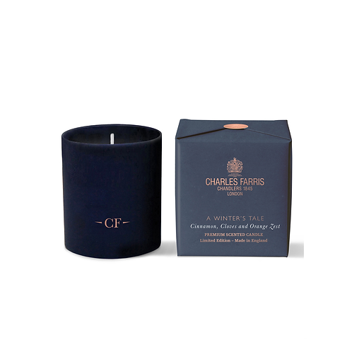 Charles Farris A Winter's Tale Scented Candle | Orange Zest, Cinnamon & Cloves