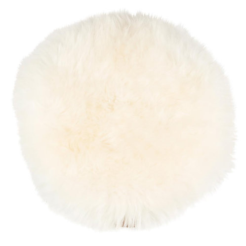 Shepherd of Sweden Moa Long-haired Seat Cushion -White, Grey, Camel & Mushroom
