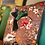 Thumbnail: Susi Bellamy Bird and Hand Collaged Velvet Square Cushion