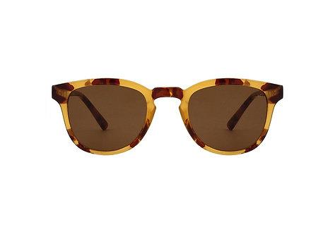 A.Kjaerbede Sunglasses Bate Demi Light Brown Tortoise