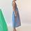 Emin + Paul Sky-Stripe Gathered Dress