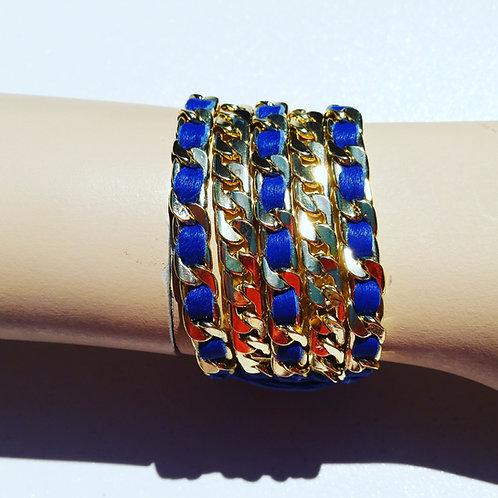 5 Gold chain bracelet