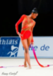 Rhythmic gymnastic costume