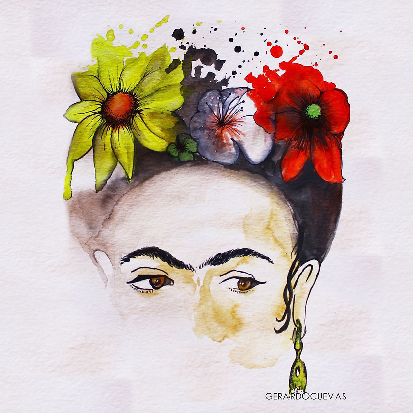 Projeto Travessias - Frida Kahlo - Sarau Literário