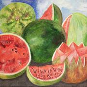 """""""Viva la Vida"""" de Frida Kahlo - 1954"""