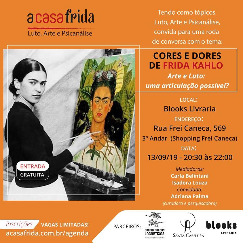 Roda de Conversa - Cores & Dores de Frida Kahlo