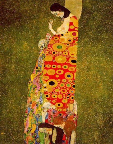 Hope II, Gustav Klimt. 1907