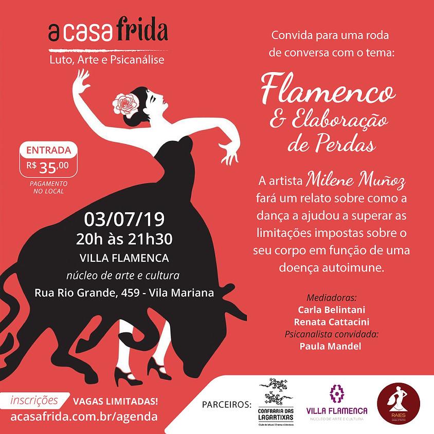 Roda de Conversa - Flamenco & Elaboração de Perdas