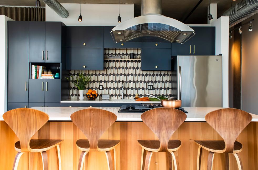 seattle loft kitchen