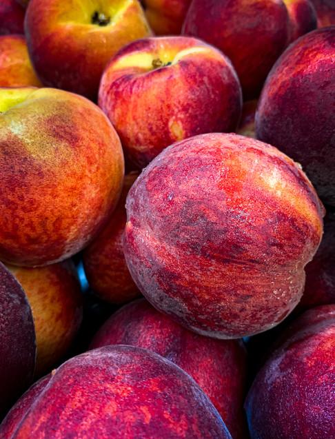 summer's peaches