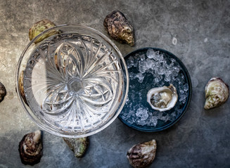gin and oysters