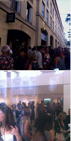 Inauguration galerie Clémence Boisanté
