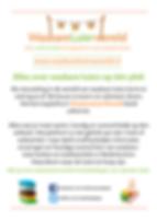 Flyer wasbare luiers 3 goede redenen en misvattingen
