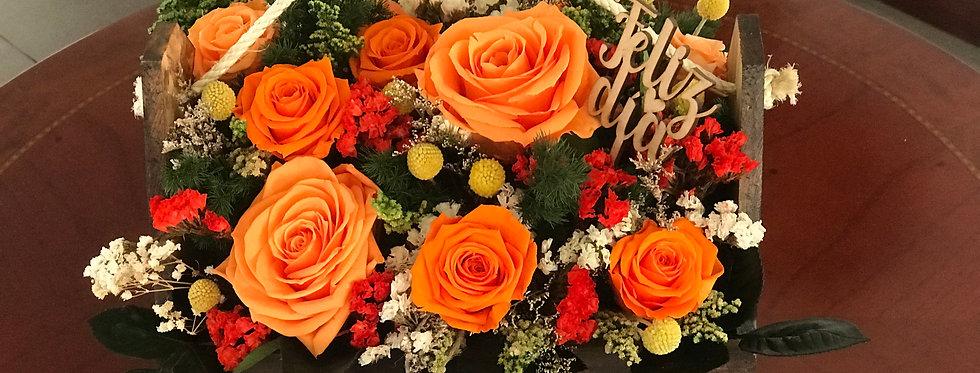 Canasta Fiesta de Flores