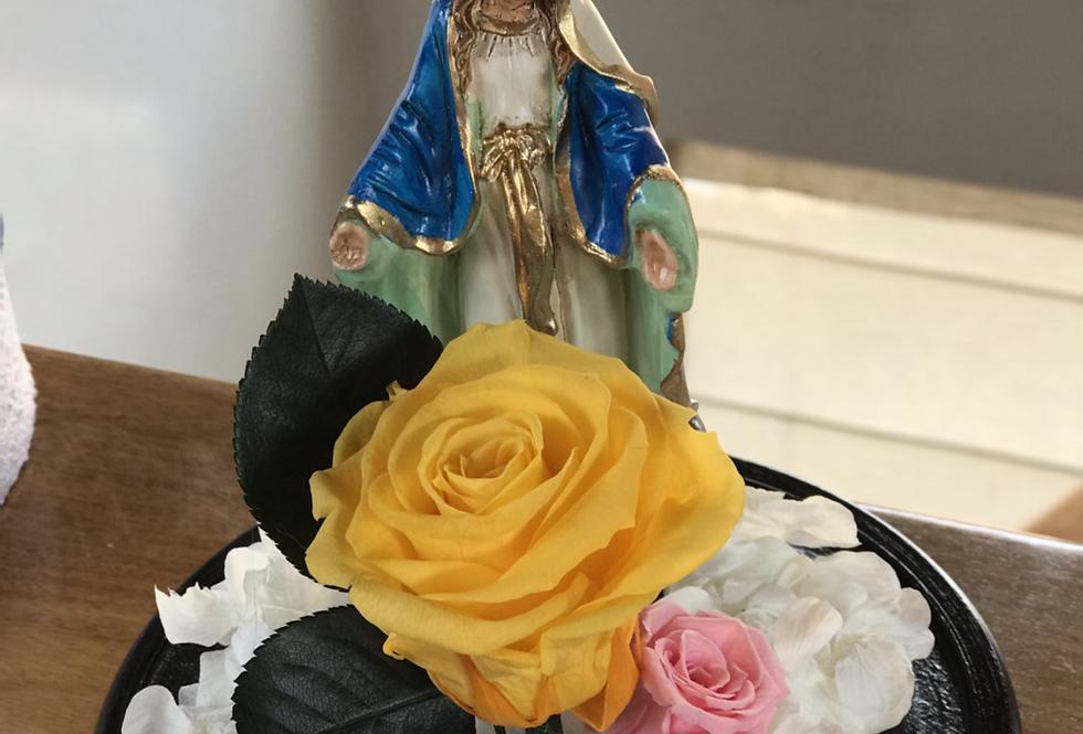 Virgencita en domo