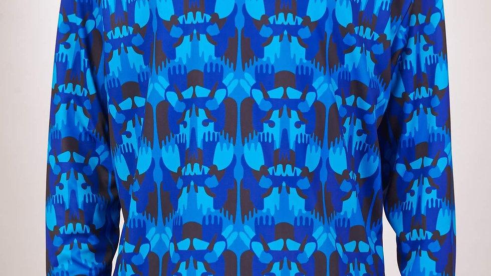 Polera modelo: Amadeo Azul