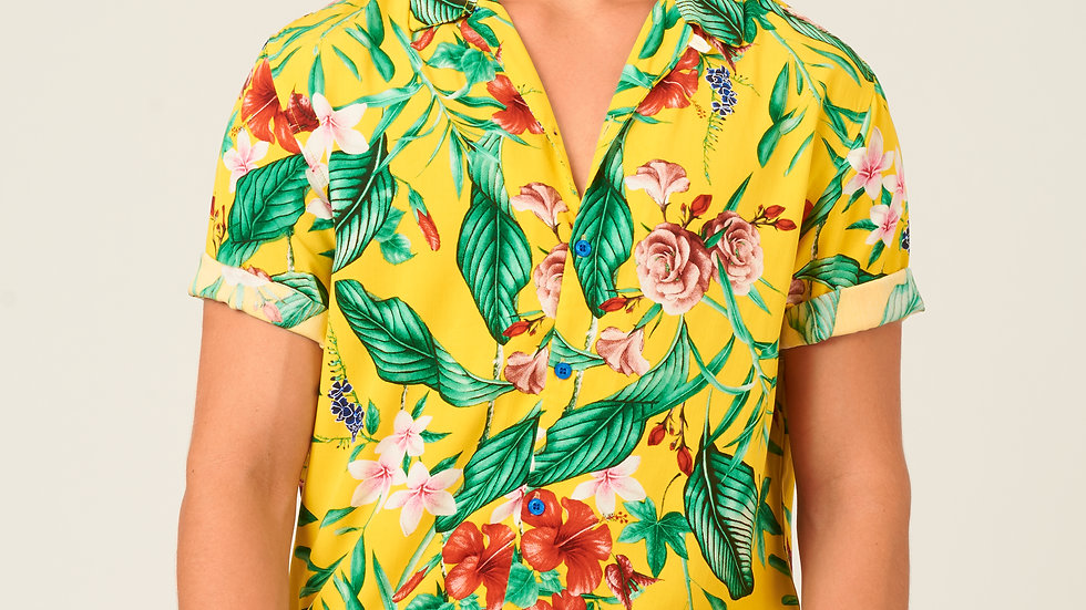 Camisa: Amarillo con Verde
