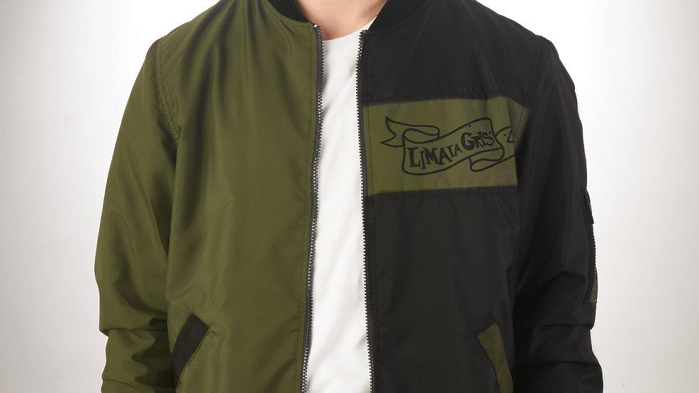 Bomber Jacket Verde/Negro