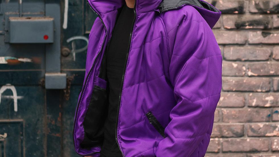 Puffer Jacket Morada