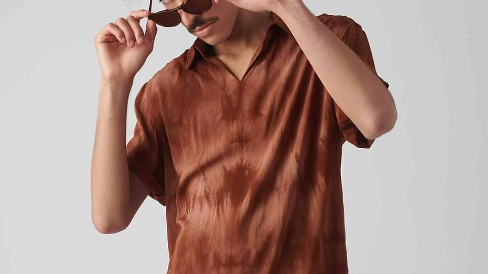 Polo Camisa: Cocoa Hindú