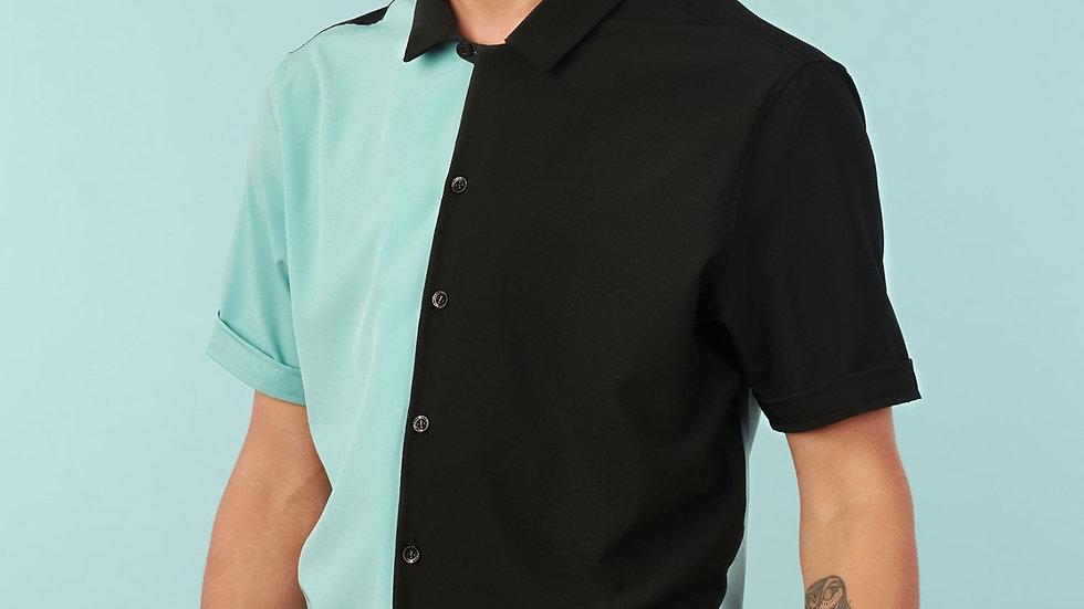 Camisa modelo Verde Yin Yang