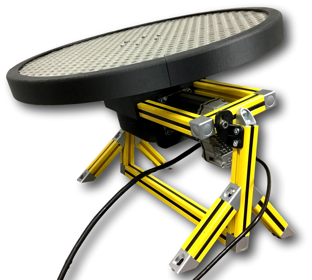 Turn Table used for IPX tests.