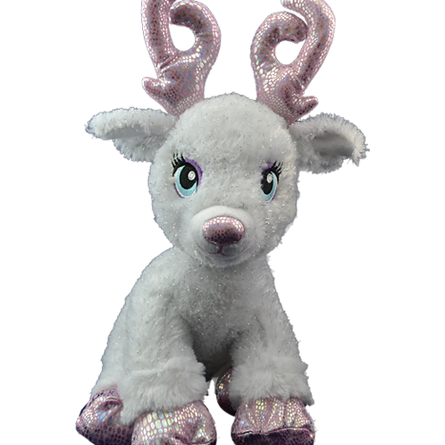 North Pole Toy Workshop RESERVATION -Reindeer Pink