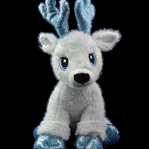 North Pole Toy Workshop RESERVATION -Reindeer Blue
