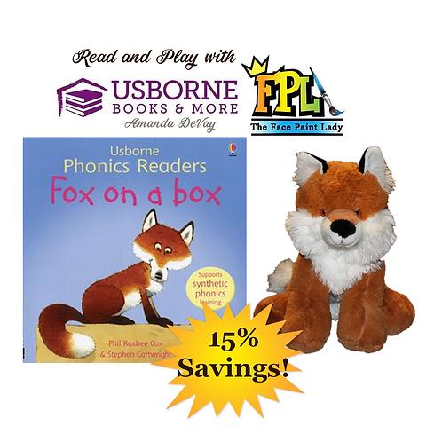 Fox Stuff A Stuffie Read A Book Kit