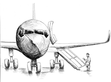 #FlyingWhileBlack